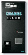 C-6 Bill Changer - Front Load, NO Bill Acceptor