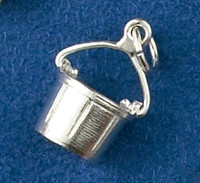 Sterling Silver Horse Bucket Charm or Pendant