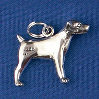 Sterling Silver Jack Russell Charm or Pendant