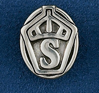 Sterling Silver Swedish Warmblood Stock Pin or Tie Tack
