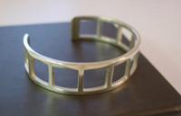 Sterling Silver Vintage Gucci cuff bracelet