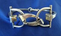 Vintage Gucci Horse Bit and Horseshoe Nail Bracelet