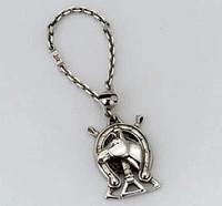 Sterling Silver Vintage Kieselstein Cord Key Chain