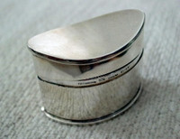 Sterling Silver Tiffany Pillbox