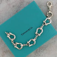 Sterling Silver Tiffany Horseshoe Bracelet