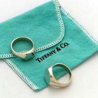 Vintage Tiffany Signet Ring size 9