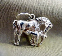 Mare and Foal Charm or Pendant