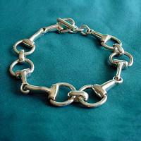 Sterling Silver Bit Bracelet
