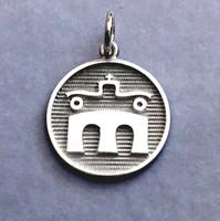 Sterling Silver  Rheinland Pfalz-saar Breed Charm or Pendant