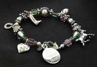hoofprints on your heart charm bracelet