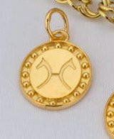 14k Yellow or White Gold Hanovarian Breed Charm or Pendant