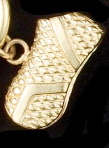 14k Gold Horse Blanket Charm or Pendant