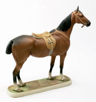 Boehm Porcelain Bay Hunt Horse