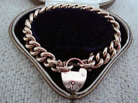 Circa 1860 9ct Rose Gold Bracelet
