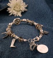 EK Horse Charm Bracelet