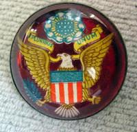 Patriotic Horse Bridle Rosette Pin