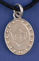 Sterling Silver Selle Francais Breed Charm