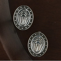 Sterling Silver Horse Breed Symbol Cufflinks