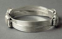Sterling Silver Brumby Bracelet, ZBRC, ZCFF,