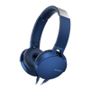 Sony MDR-XB550AP EXTRA BASS Headphone with in-line remote & mic, Blue