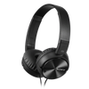 Sony MDR-ZX110NA Noise Cancelling Headphone with Smartphone Mic & Control, Black