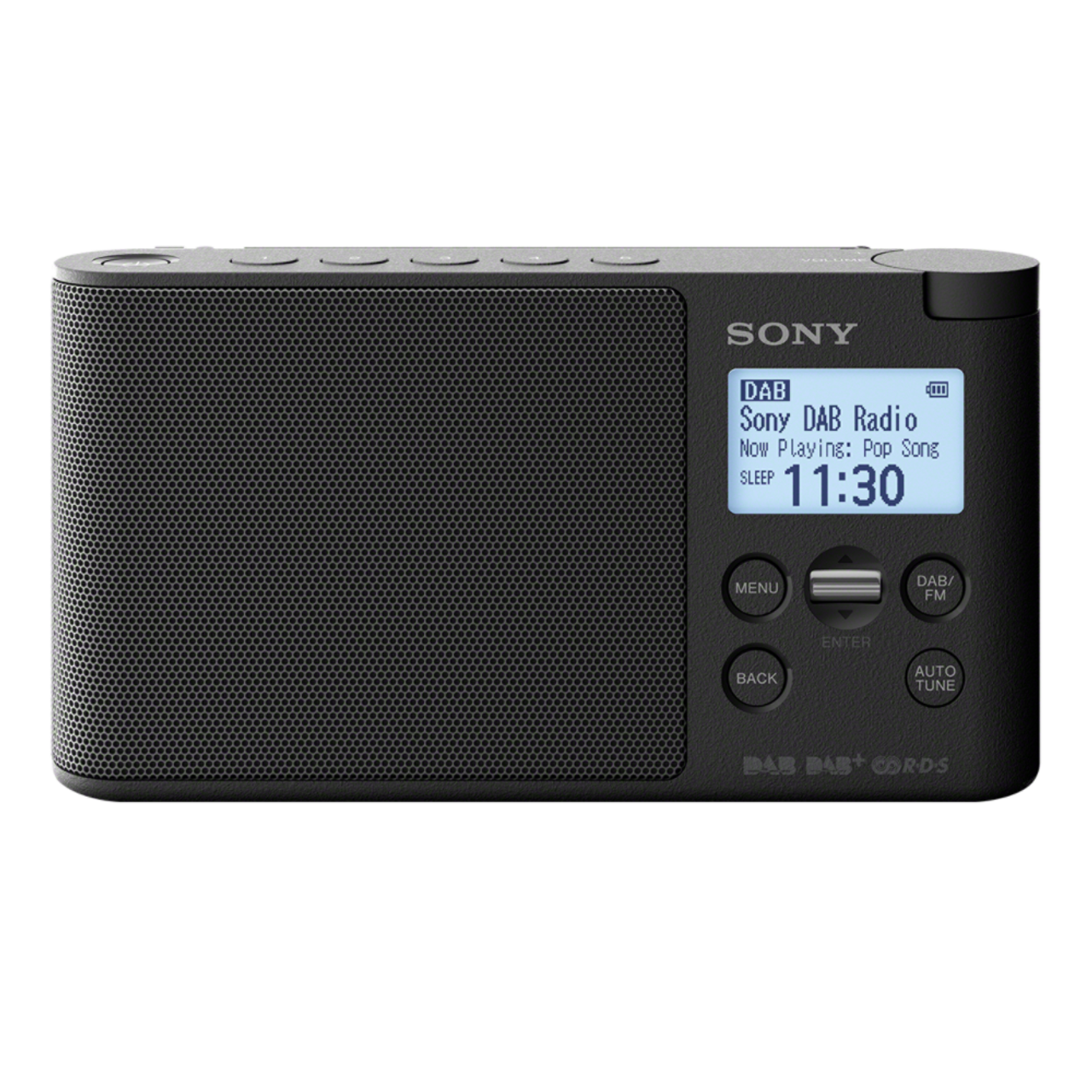 sony xdr s41d portable dab dab radio black ask outlets ltd. Black Bedroom Furniture Sets. Home Design Ideas