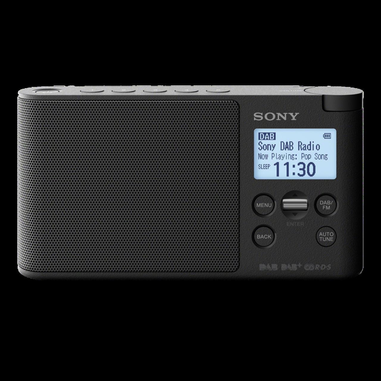 sony xdr s41d portable dab dab radio black ask outlets ltd. Black Bedroom Furniture Sets. Home Design Ideas