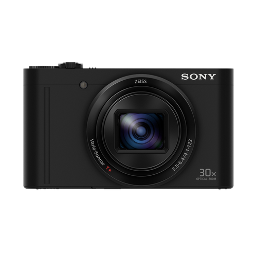 Sony DSC-WX500 Compact Camera with 30x Optical Zoom Black