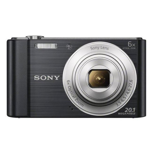 Sony DSC-W810B Compact Camera with 6x Optical Zoom Black