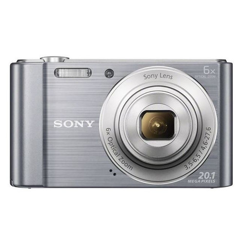 Sony DSC-W810S Compact Camera with 6x Optical Zoom Silver