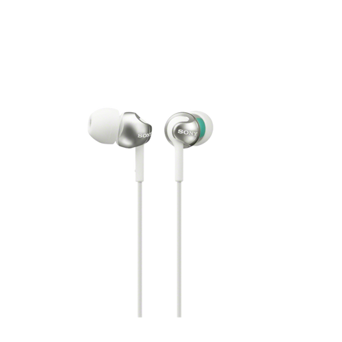 Sony MDR-EX110LP In-Ear Headphone, White