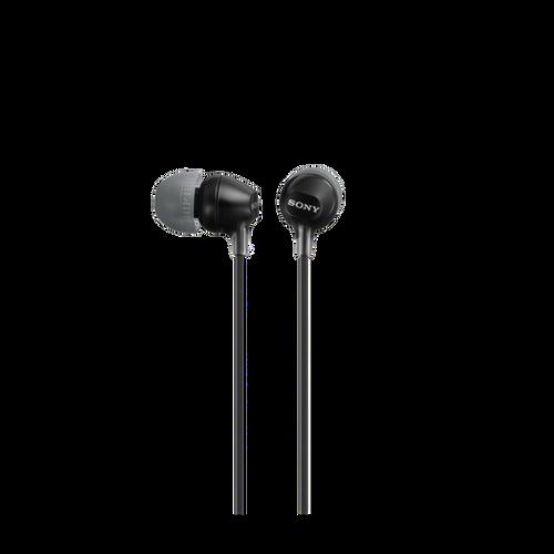 Sony MDR-EX15LP In-Ear Headphone, Black