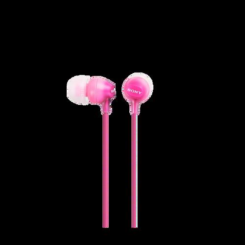 Sony MDR-EX15LP In-Ear Headphone, Pink