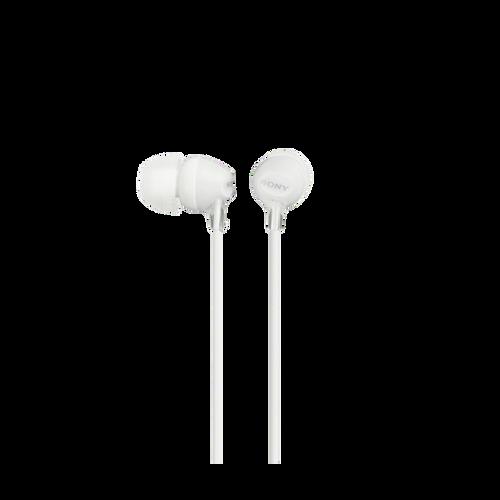 Sony MDR-EX15LP In-Ear Headphone, White