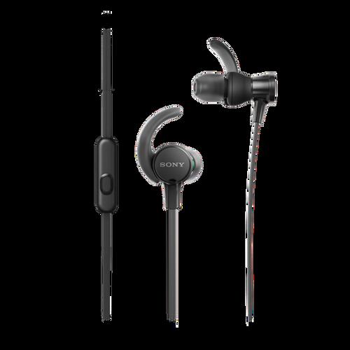 Sony MDR-XB510AS EXTRA BASS Sports In-ear Headphone, Black