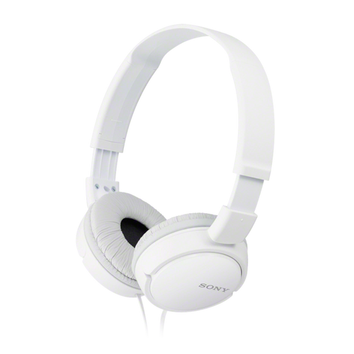 Sony MDR-ZX110AP Headphone with Smartphone Mic & Control, White