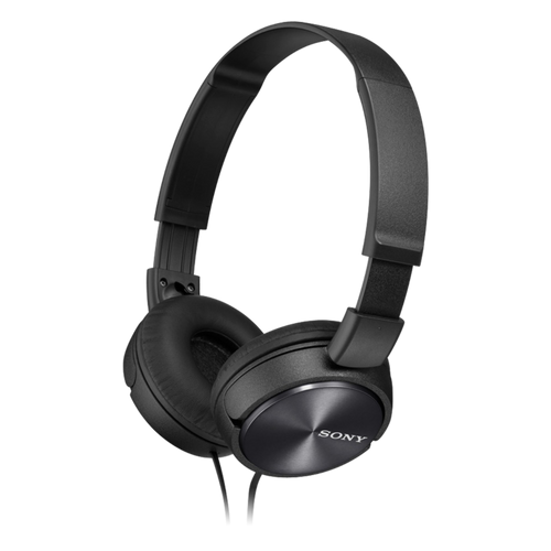 Sony MDR-ZX310AP Headphone with Smartphone Mic & Control, Black