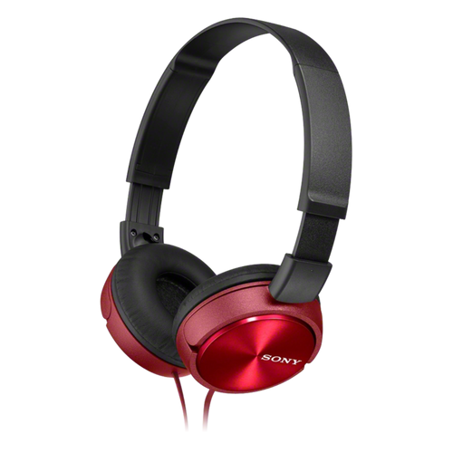 Sony MDR-ZX310AP Headphone with Smartphone Mic & Control, Red