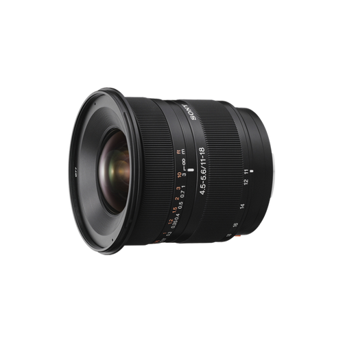 Sony SAL1118 DT 11-18mm F4.5-5.6 Wide Angle Lens