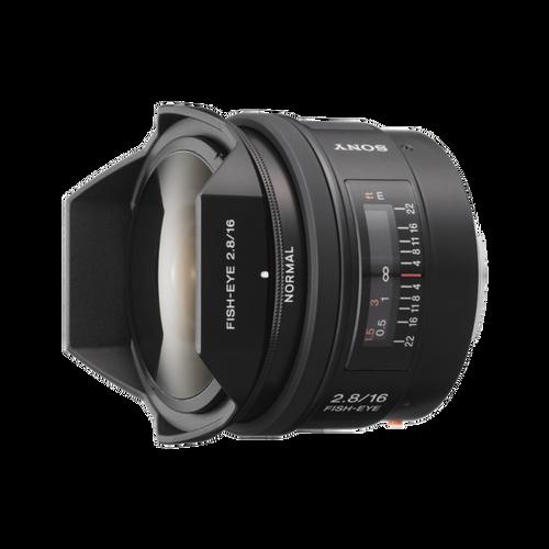 Sony SAL16F28 16mm F2.8 Fisheye Lens