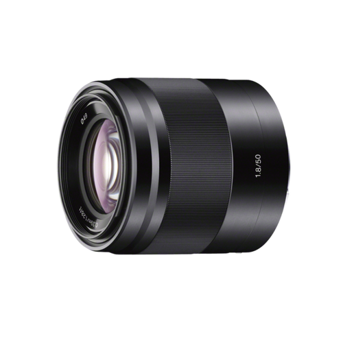Sony SEL50F18 E 50mm F1.8 OSS, Black