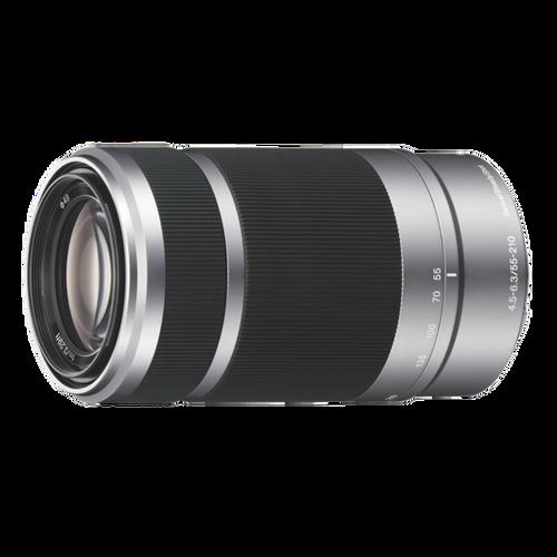 Sony SEL55210 E 55-210mm F4.5-6.3 OSS, Silver