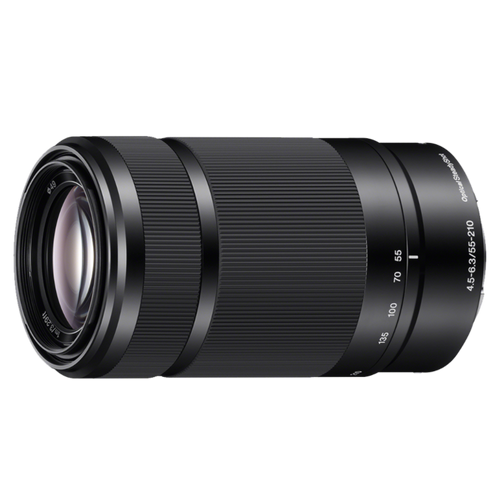 Sony SEL55210B E 55-210mm F4.5-6.3 OSS, Black
