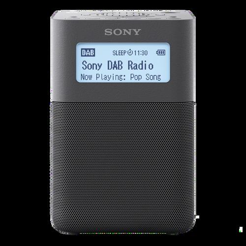 sony xdr v20d portable dab dab clock radio gray ask outlets ltd. Black Bedroom Furniture Sets. Home Design Ideas