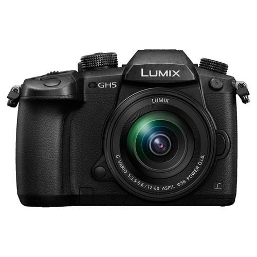 Panasonic Lumix DMC-GH5 Digital Camera with 12-60mm f/3.5-5.6 Lens