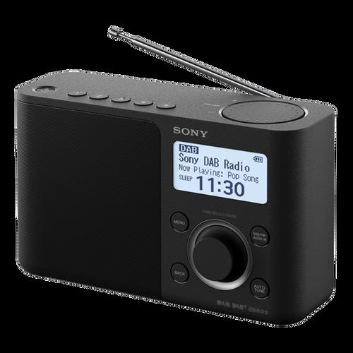 Sony XDR-S61D Portable DAB/DAB+ Radio, Black