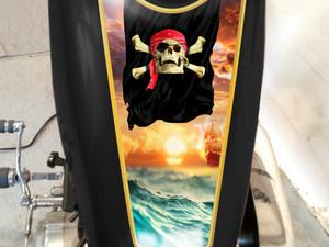 Pirate  -   Tank  decal