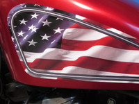 Patriotic - Sportster tank panels