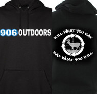 906 Outdoors Hooded Sweatshirt Kill What You Eat