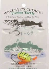 Walleye's Choice Walleye Spinner Rig - #3 Indiana Blades 1